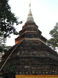 "This is the ""Chedi"" in Wat Chedi Luang"